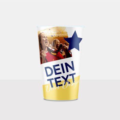 300ml Klassik Plastikbecher bedrucken bei cupstorys.com