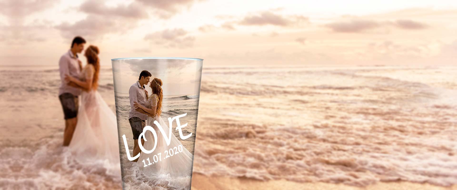 Nachhaltige Hochzeitsbecher von cupstorys.com
