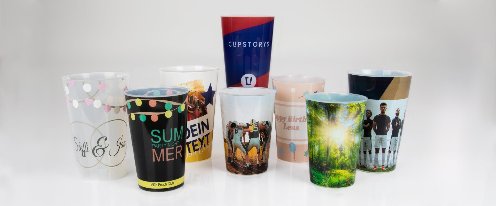 Nachhaltig feiern mit Eventbechern von cupstorys.com