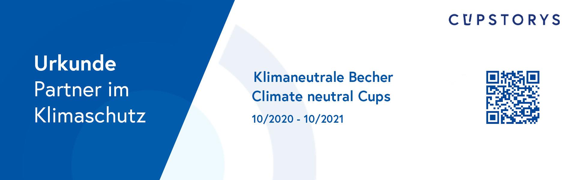 Klimaneutrale Becher bei cupstorys.com