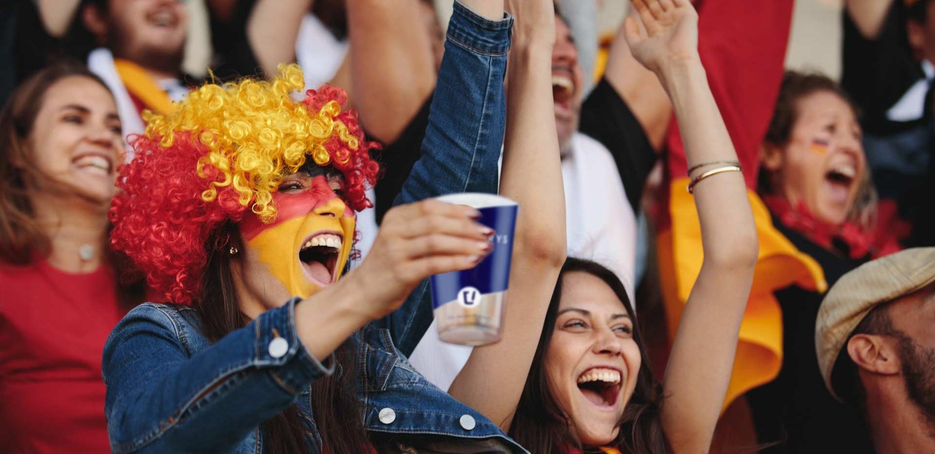 Stadionbecher für dein nächstes Event von cupstorys.com