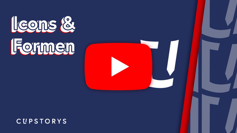 Youtube Tutorial mit Icons und Formen bearbeiten bei cupstorys.com
